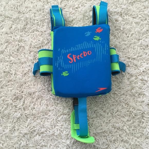 Speedo Other - NWOT! SPEEDO Life Vest In Blue And Green- Size 2-5